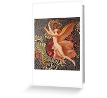 The soul breaking the bonds ... Greeting Card