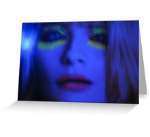 Daughter Of Resolution  { True Blue } Greeting Card
