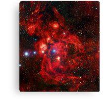 Lobster Nebula Triangle   Fresh Universe Canvas Print