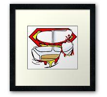 Super Royal Armor Framed Print