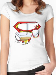 Super Royal Armor Women's Fitted Scoop T-Shirt