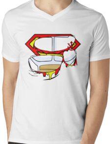 Super Royal Armor Mens V-Neck T-Shirt