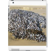 Mussels At The Cove iPad Case/Skin