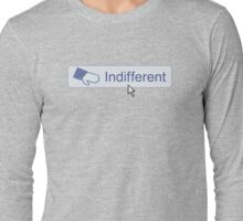 Indifferent Button Long Sleeve T-Shirt