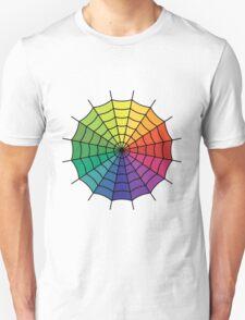 Spider Web - Color Spectrum Segment T-Shirt
