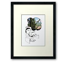 Pod Daze - Ah Italia! Framed Print