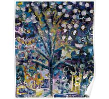 When Snow Fell On Bonnard's Almond Tree.. Poster