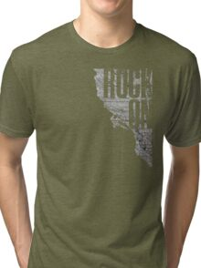 Rock On - Climbing Tri-blend T-Shirt