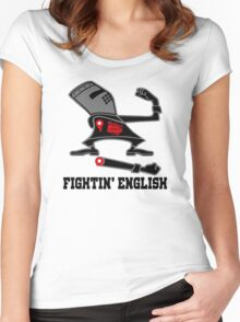 Fightin' English Women's Fitted Scoop T-Shirt