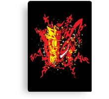 Nine Tailed Duo Canvas Print