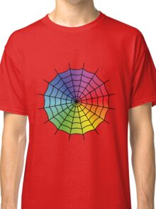 Spider Web - Color Spectrum Classic T-Shirt