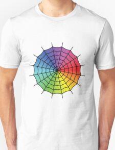 Spider Web - Color Spectrum T-Shirt
