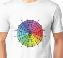 Spider Web - Color Spectrum Unisex T-Shirt