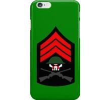 Sgt Hatred iPhone Case/Skin