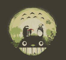 Totoro nightmare by Harantula