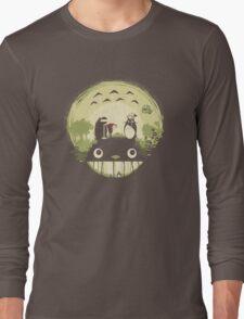 Totoro nightmare Long Sleeve T-Shirt