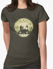 Totoro nightmare Womens Fitted T-Shirt