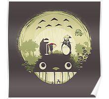 Totoro nightmare Poster