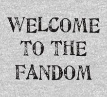 Welcome to the fandom! Kids Clothes