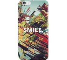 Colored Smile Background iPhone Case/Skin