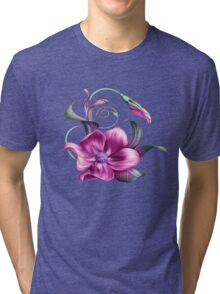 flower Tri-blend T-Shirt