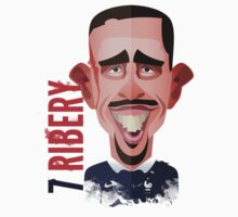 Franck Ribery World Cup by alexsantalo