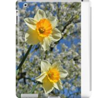 Yellow Spring iPad Case/Skin