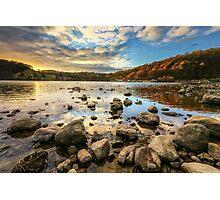Ullswater at Sunset Photographic Print
