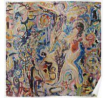 Helen Frankenthaler Knocks Peter Lanyon Off The wall Poster
