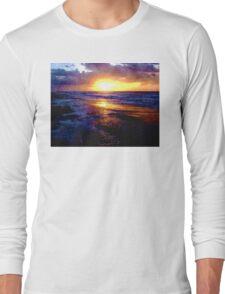 Atlantic Ocean Sunrise Long Sleeve T-Shirt