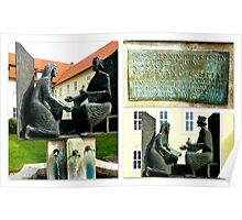 Roswithabrunnen ~ Bad Gandersheim Poster