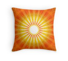 RAYS OF LIGHT - HEAVENS GATE Throw Pillow
