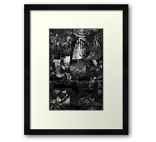 No Relief From Depression Framed Print