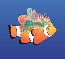 The Coral Fish by Mihaela Sl.