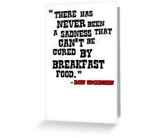 Ron - Breakfast Food Greeting Card