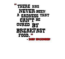 Ron - Breakfast Food Photographic Print