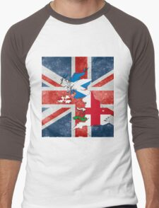 United Kingdom of Great Britain and Northern Ireland Men's Baseball ¾ T-Shirt