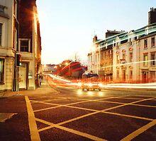 Dusk Traffic by Sarah Mackie