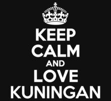 Keep Calm and Love KUNINGAN by Jonelleon