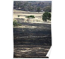 Bushfire Seaton Vic – Photo taken on 23 January 2013 Poster