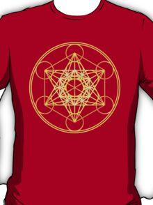 Metatrons Cube, Flower of life, Sacred Geometry T-Shirt