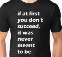 Success - White Unisex T-Shirt