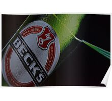 Becks' Angle Light Poster
