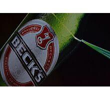 Becks' Angle Light Photographic Print