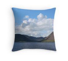 Loch Turret Throw Pillow