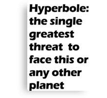 Hyperbole Canvas Print