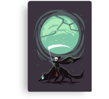 Little Reaper Canvas Print