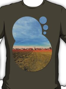 Horizon, clouds, sky and sunset | landscape photography T-Shirt