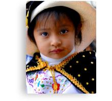 Cuenca Kids 412 Canvas Print