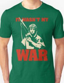 It Wasn't My War (Rambo) T-Shirt